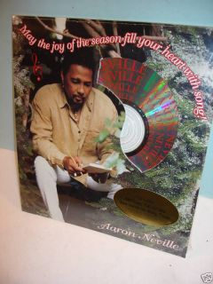 20 AARON NEVILLE Christmas Cards w/ FREE Bonus CD & Envelopes