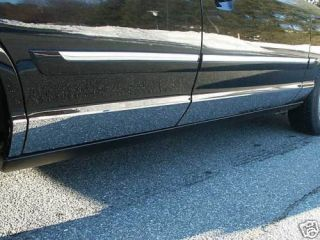 Ford Crown Victoria 2000 2001 8PC Rocker Panel Trim