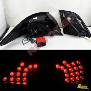 2005 2006 Lexus ES330 ES 330 LED Tail Lights Black