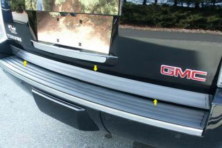 07 13 Cadillac Escalade Tailgate Rear Deck Truck SUV Chrome Trim New