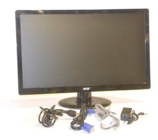 Acer s S230HL abd 23 Widescreen LED LCD Monitor Black
