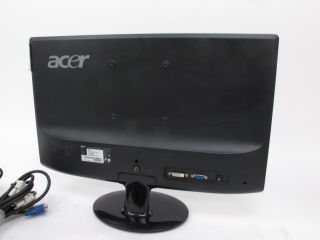 Acer S201HL 20 Widescreen LED LCD Monitor