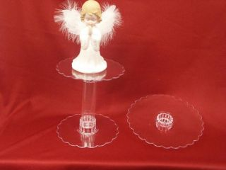 Clear Acrylic Party Centerpiece Cupcake Cake Stand