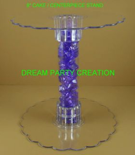 Clear Acrylic Cupcake / CAKE / Centerpiece Stand