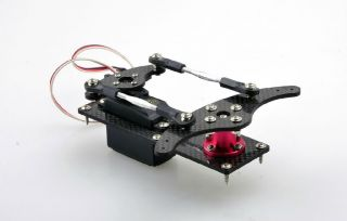 Carbon Fiber Rudder Kit RC Airplane