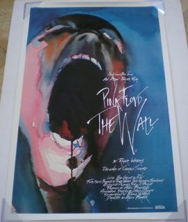 Pink Floyd The Wall Movie Poster 1 Sheet Original 27x41