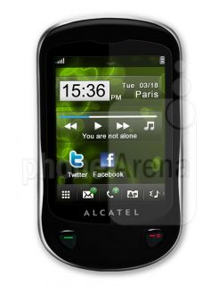 Alcatel OT710d NEW Dual Sim Mobile Phone Facebook, Twitter, BT English