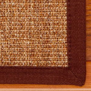 Alexandria 9 x 29 Natural Sisal Carpet Stair Treads and Rugs (Set of