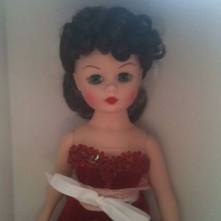 Madame Alexander doll Scarlett Ohara The Red Velvet Ball Gown