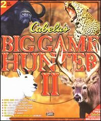 Cabelas Big Game Hunter II 2 PC CD Hunt Wild African Animals Gun