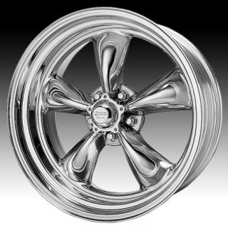 CHROME AMERICAN RACING VN815 WHEELS RIMS 5X4.5 5X4 1/2 HOT ROD CHROME