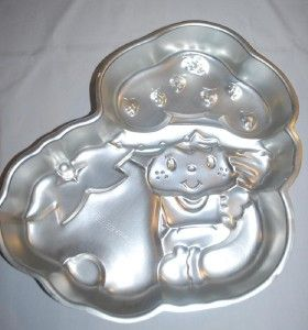 Wilton Cake Pan Strawberry Shortcake Baking Mold Birthday Party