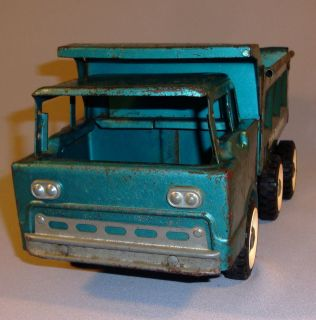 Vintage Antique Structo Deluxe Dumper Dump Truck Metal Toy Car
