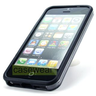 Protect your Apple iPhone 5 with Bumper Slim Soft TPU Gel Case