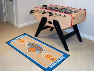 New York Knicks Basketball Court Runner Area Rug Mat