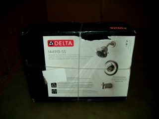 Delta Classic Single Handle Tub Shower Faucet 144913 SS