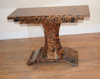 Art Deco Zebra Console Table Tables Furniture