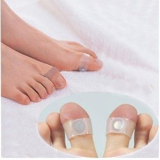 Slim Magnetic Silicon Slimming Foot Massage Toe Rings