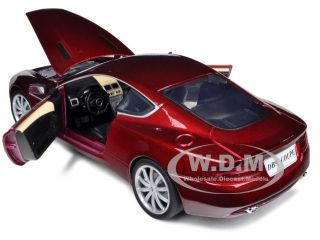 Aston Martin DB9 Coupe Burgundy 1 18 Diecast Model Car by Motormax