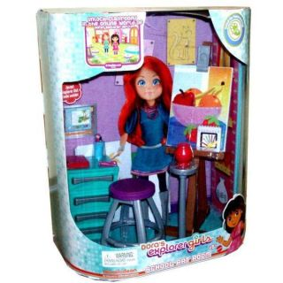 NEW MATTEL N9149 DORAS EXPLORER GIRLS ART ROOM PLAYSET AGES 5 UP