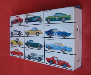 Motorific Slot Car Carrying Case by Ideal Toy Corporation circa 1960s
