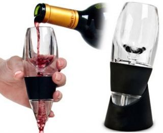 Magic Red Wine Glass Accessory Decanter Venturi Aerator Pourer Gift