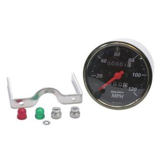 New Auto Meter Designer Black Mechanical Speedometer/Speedo, 3 1/8