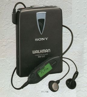 Vintage Sony Walkman Personal Cassette Player Wm EX2 New RARE