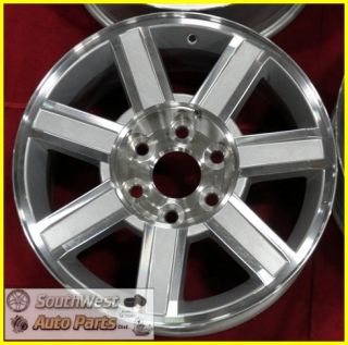 11 12 Cadillac Escalade ESV Ext 18 Machined Silver Wheels 5303