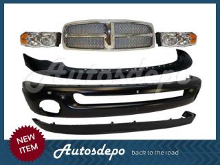 2002 2005 2004 2003 Dodge RAM 1500 Pickup Grille Chrome