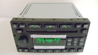 New 03 04 05 Ford Crown Victoria Aux SAT 6 Disc CD Changer Player