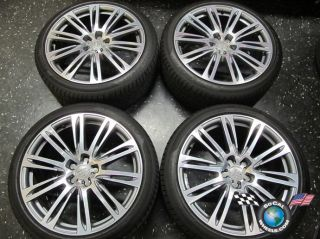 four 2012 Audi A7 S7 Factory 20 Wheels Tires Rims OEM 58884