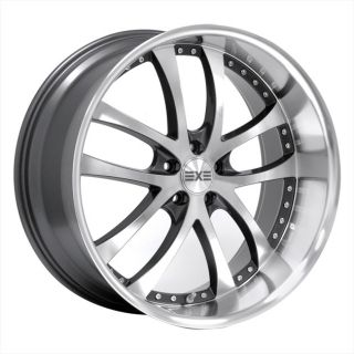 19 AXIS Konvex Machine Face Wheels Rims Fit INFINITI G37 SEDAN X AWD
