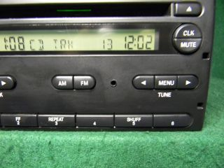 Ford Ranger F150 CD Radio with Aux  SAT Aux iPod Input 4 Hole Mount