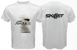 Skillet Awake T Shirt Alternative Rock Band White Tee s 3XL