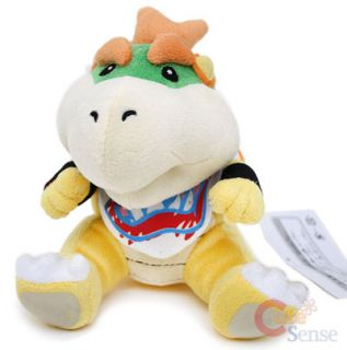 Super Mario Bros Baby Bowser Plush Doll King Koopa 6 Toy