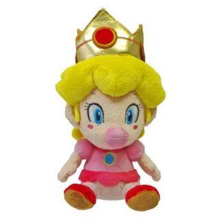 NEW 5 Sanei Super Mario Plush Series Plush Doll Baby PEACH