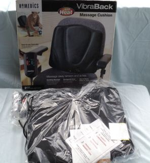 Homedics Vibra Back Massage Cushion with Heat Brand New