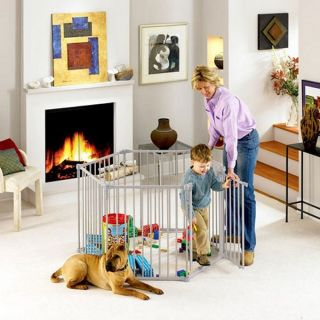 NORTH STATES SUPERYARD Baby/Pet Safety Gate & Play Yard