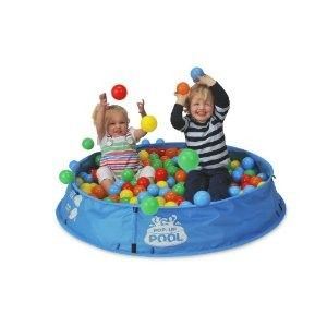 FOLDING POP UP KIDS 3 IN 1 PLAY CENTER BALL PIT POOL TOY SAND BOX