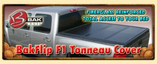 Bak Bakflip F1 Folding Tonneau Cover for 2006 2012 Honda Ridgeline 5