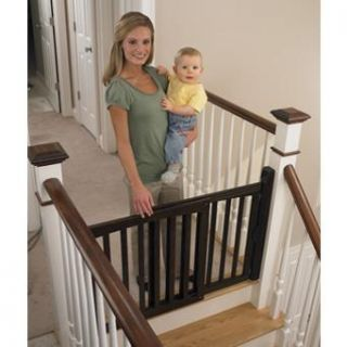 safety 1st espresso swing baby kid pet security gate new authorized