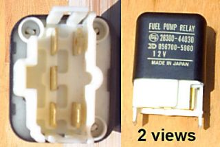 89 90 91 92 93 95 Toyota Truck 4Runner Fuel Pump Relay