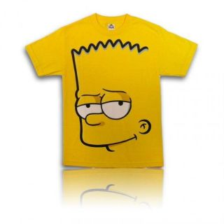 Men Funny T Shirt Bart Simpson Adult All Sizes
