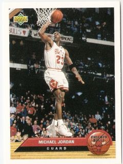 Michael Jordan Upper Deck McDonalds Basketball Trading Card P5