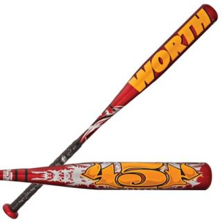 features of worth yb454 29 17 youth baseball bat 29 inch