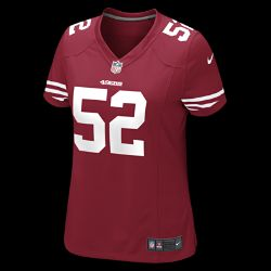 NFL San Francisco 49ers (Patrick Willis) Womens