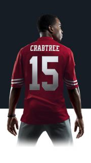 NFL San Francisco 49ers (Michael Crabtree) Mens Football