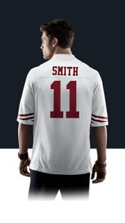 49ers Alex Smith Mens Football Away Game Jersey 479400_107_B_BODY
