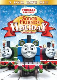 Thomas Friends Sodor Friends Holiday Collection DVD, 2009, 3 Disc Set